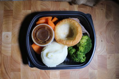 picture of roast beef dinner