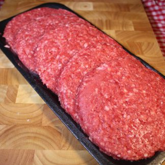 picture of steak burgers