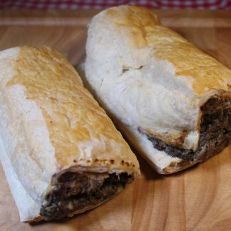 picture of vegetarian sausage rolls