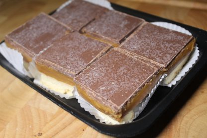 picture of caramel squares