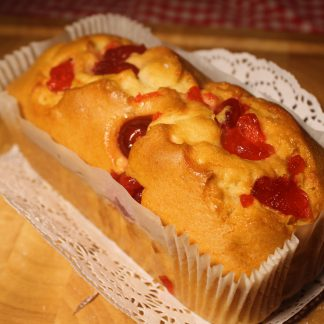 Picture of cherry cake