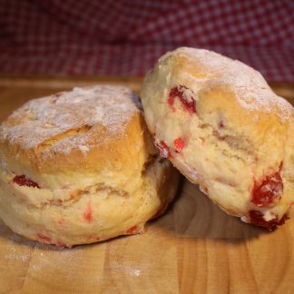 picture of cherry scone