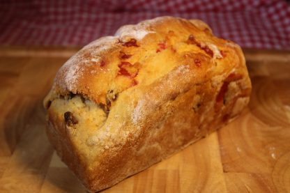 picture of fruit and cherry loaf