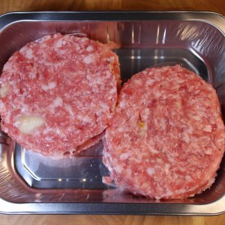 picture of pork and apple burgers