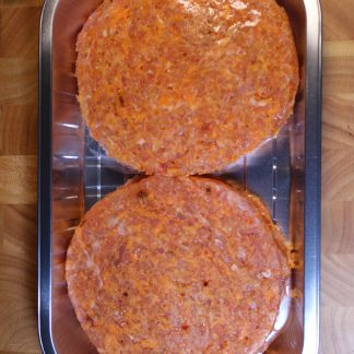 picture of sweet potato and chilli burgers