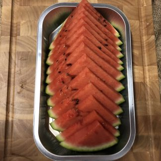 picture of sliced watermelon